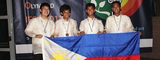PHL reaps gold in Int'l Earth Science Olympiad