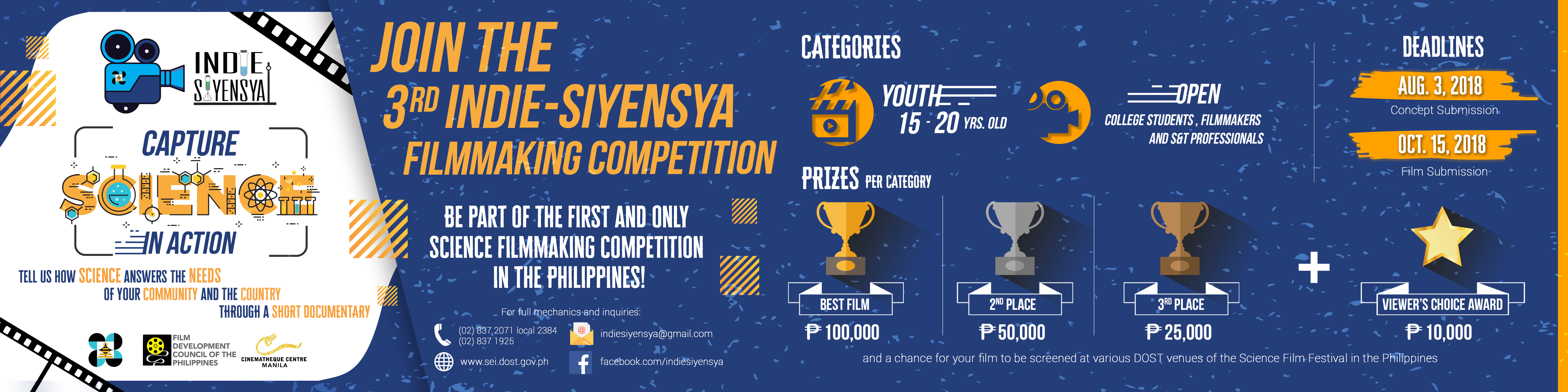 Indie-Siyensya Film-Making Competition